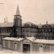 Noyon oise cpa abbaye st barthelemy pensionnat des chanoines