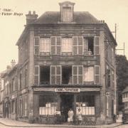Noyon oise cpa boucherie rue saint eloi chgt proprietaire