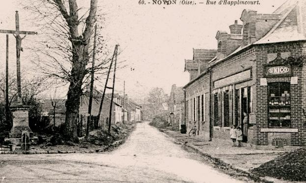 Noyon oise cpa applincourt tabac apres 1915