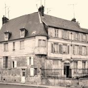 Noyon oise cpa maison de 1651