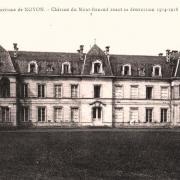 Noyon oise cpa mont renaud chateau avant 1915