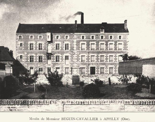 Noyon oise cpa moulin d appilly 1871