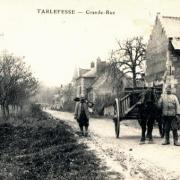 Noyon oise cpa tarlefesse hameau grande rue