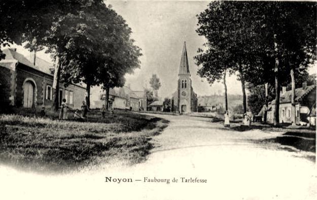 Noyon oise cpa tarlefesse hameau 1