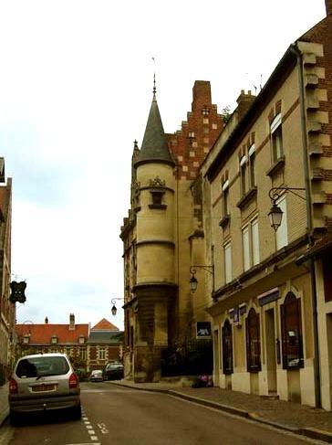 Noyon oise musee du noyonnais ancien abbaye st benoit
