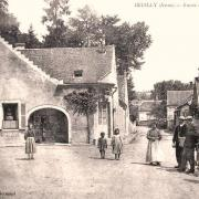Oeuilly (Aisne) CPA carrefour
