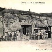 Oeuilly (Aisne) CPA PC de la creute de la Chaouia