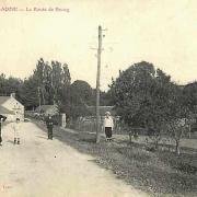 Oeuilly (Aisne) CPA route de Bourg