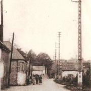 Oeuilly (Aisne) CPA route de Fismes-Pargnan