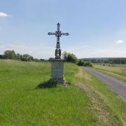 Oeuilly (Aisne) croix de chemin