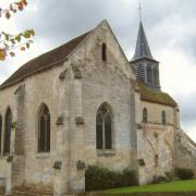Oeuilly (Aisne) église Saint Rémi