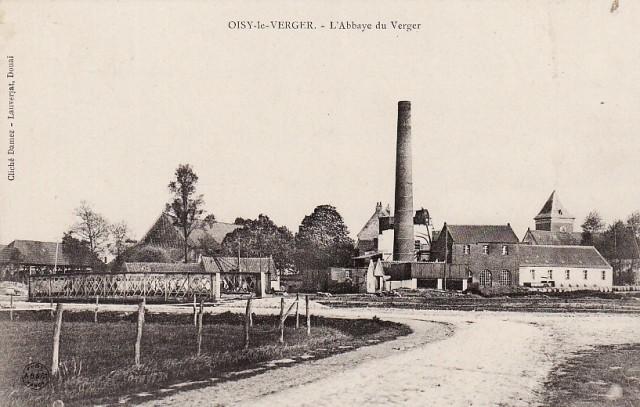 Oisy le verger pas de calais l abbaye du verger avant la guerre de 1914 cpa