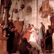 Othon 1er et Adélaïde de Suse (mariage à Suse)