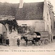 Pargnan (Aisne) CPA débit de tabac