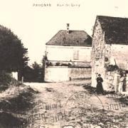 Pargnan (Aisne) CPA rue de Gény