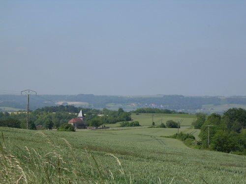 Pargnan (Aisne) vue générale