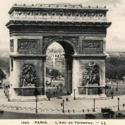 Paris 75 arc de triomphe de l etoile cpa