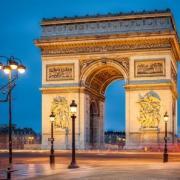 Paris 75 arc de triomphe de l etoile