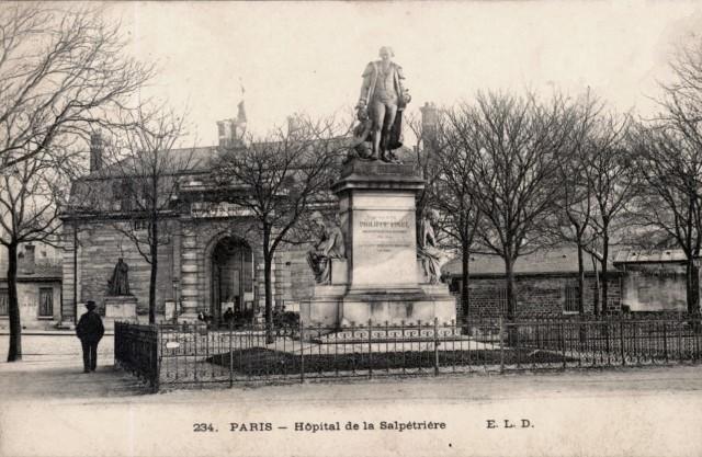 Paris 75 l hopital de la salpetriere cpa