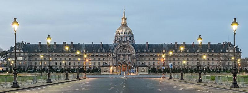 Paris 75 l hotel des invalides