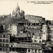Paris 75 la butte montmartre cpa