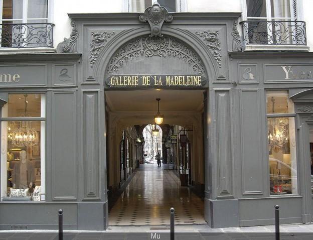 Paris 75 la galerie de la madeleine 8eme