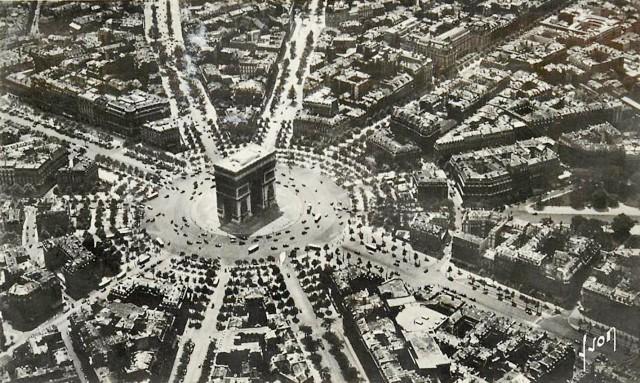 Paris 75 la place de l etoile cpa