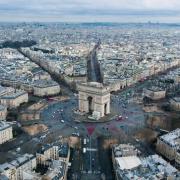 Paris 75 la place de l etoile