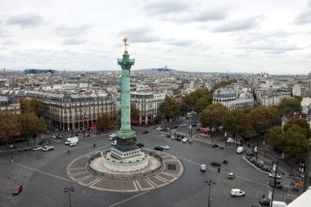 Paris 75 la place de la bastille
