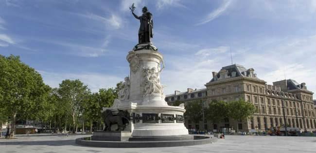 Paris 75 la place de la republique