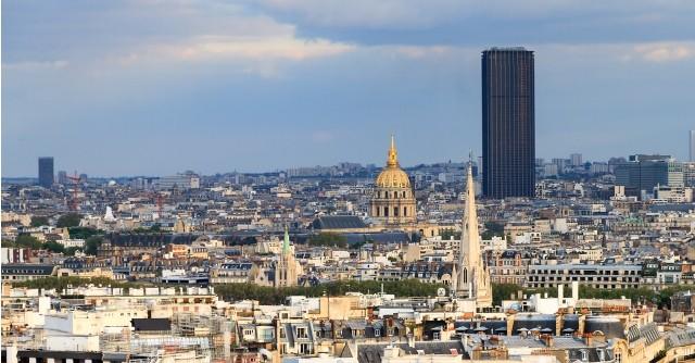 Paris 75 la tour montparnasse