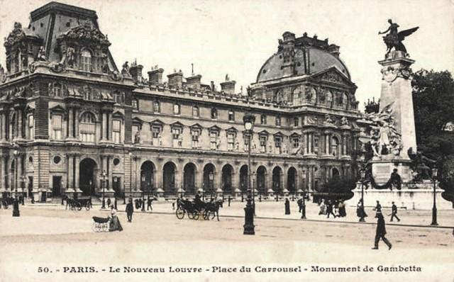 Paris 75 le louvre cpa