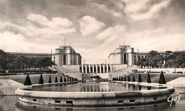 Paris 75 le palais de chaillot cpa