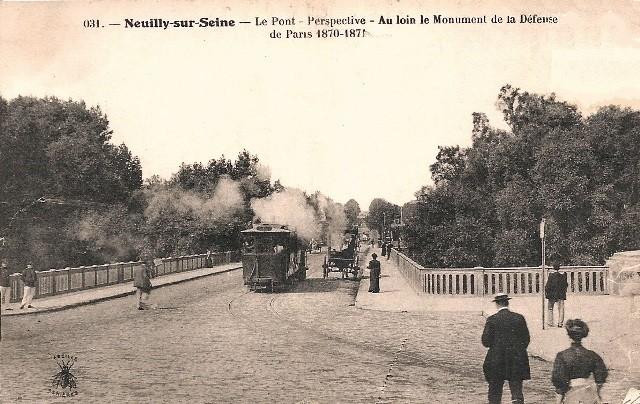 Paris 75 le quartier de la defense pont de neuilly cpa