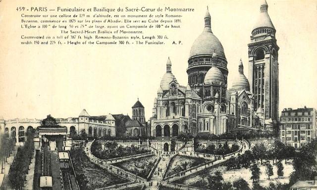 Paris 75 le sacre coeur cpa