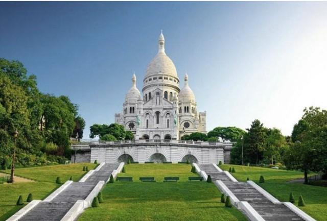 Paris 75 le sacre coeur
