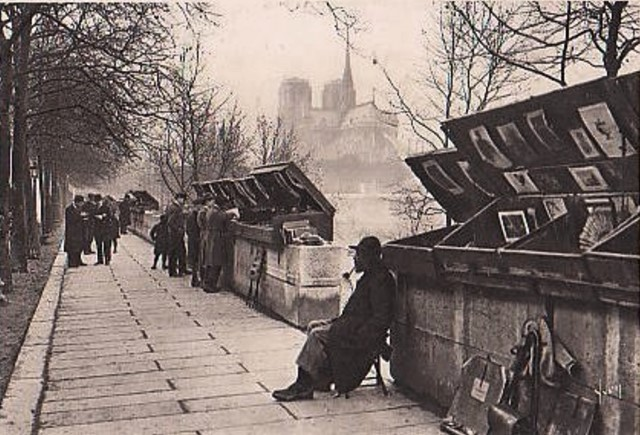 Paris 75 les bouquinistes cpa