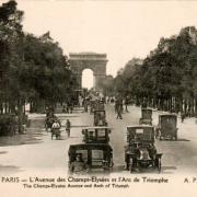 Paris 75 les champs elysees cpa