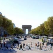 Paris 75 les champs elysees