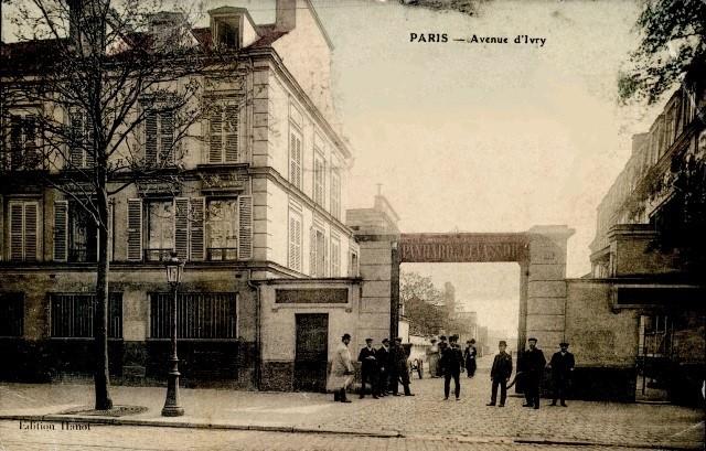Paris 75 paris 13eme l usine panhard et levasseur cpa