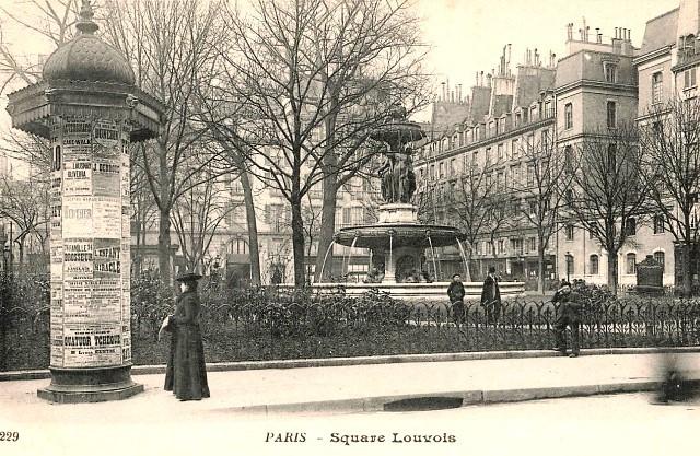 Paris 75 une colonne morris cpa