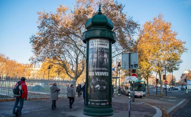 Paris 75 une colonne morris