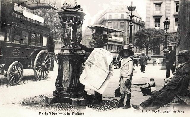 Paris 75 une fontaine wallace cpa