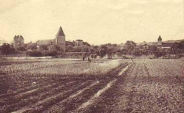 Passy-sur-Marne (Aisne) CPA les champs