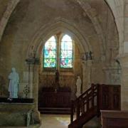 Passy-sur-Marne (Aisne) intérieur église Saint-Eloi