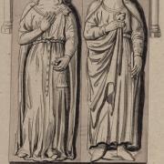 Pépin III dit le Bref et son épouse Bertrade de Laon