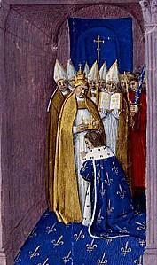 Le sacre de Pépin III
