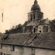 Pernant (Aisne) CPA La ferme du Val 1914-1918