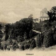 Pernant (Aisne) CPA Le château