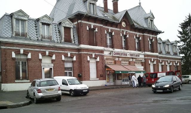 Peronne somme l ancienne gare